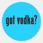 ¿vodka conseguida? etiquetas