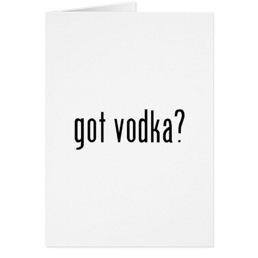 ¿vodka conseguida? felicitaciones