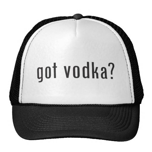 ¿vodka conseguida? gorros