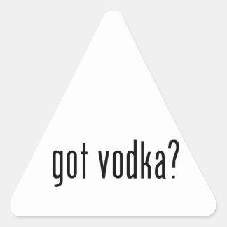 ¿vodka conseguida? pegatinas trianguladas