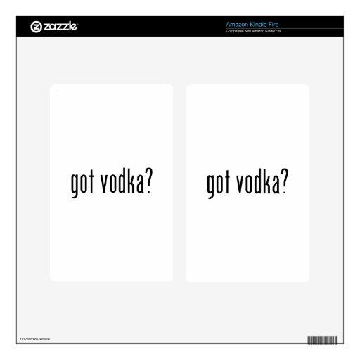 ¿vodka conseguida? skin para kindle fire