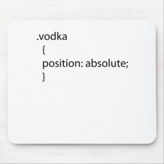 Vodka css class mouse pad