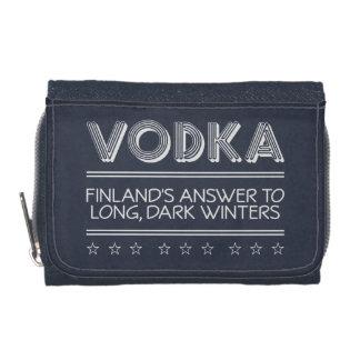 VODKA custom color wallets