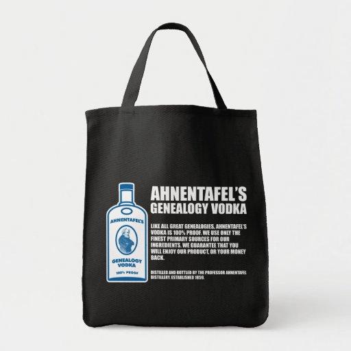 Vodka de la genealogía de Ahnentafel Bolsa Tela Para La Compra