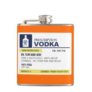 Vodka divertida de la prescripción