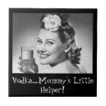 ¡Vodka, el pequeño ayudante de la mamá! Azulejo Cerámica