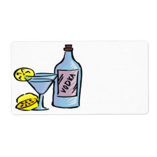 Vodka Etiqueta De Envío