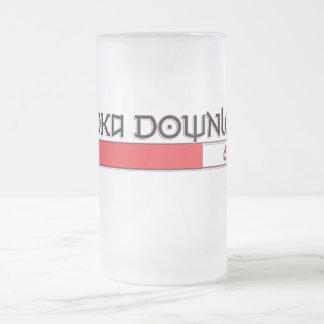 vodka frosted glass beer mug