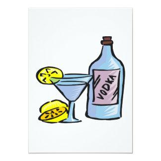 """Vodka Invitación 5"""" X 7"""""""
