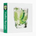Vodka Lime Avery Binder
