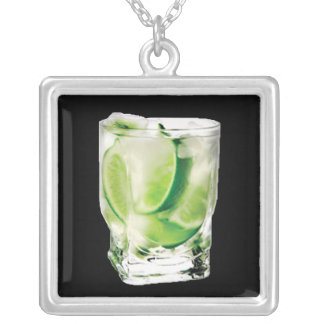 Vodka Lime Necklace