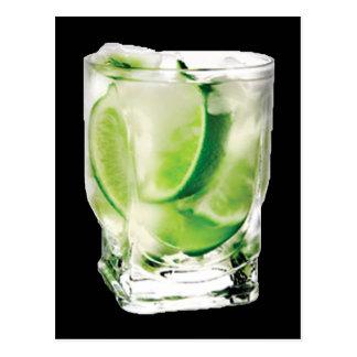 Vodka Lime Postcard