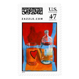 Vodka O (Stamp) Postage Stamp