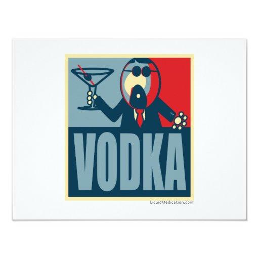 Vodka Party Card