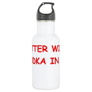 VODKA.png 18oz Water Bottle