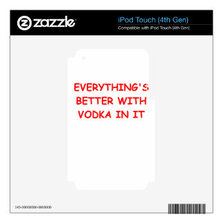 VODKA.png Skin For iPod Touch 4G