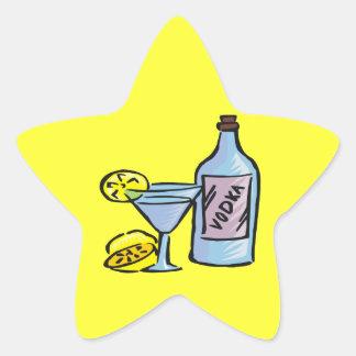 Vodka Star Sticker