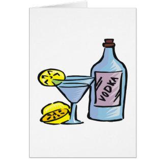 Vodka Tarjeta De Felicitación