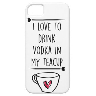 vodka teacup phone case iPhone 5 cover