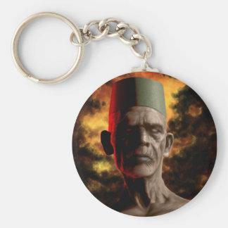 """""""Vodun Bokor"""" by HATE Basic Round Button Keychain"""