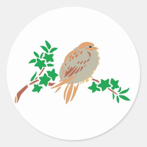 Vogel bird aufkleber