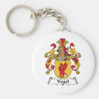 Vogel Family Crest Keychain