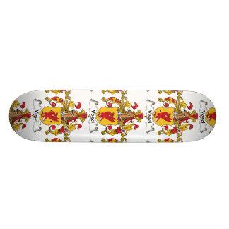 Vogel Family Crest Skateboard