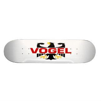 Vogel Surname Skateboard