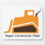 Vogon Constructor Fleet Mouse Pad