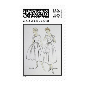 Vogue 1953 sello