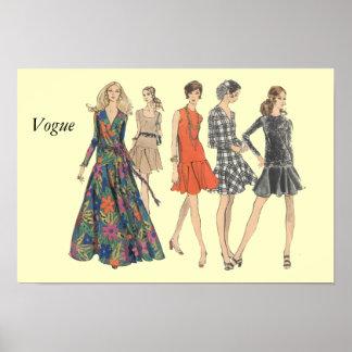 Vogue Póster