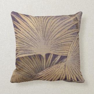 Voguish Palm Throw Pillow