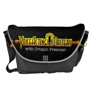 Voice Acting Mastery LRG Messenger Bag - Black GG