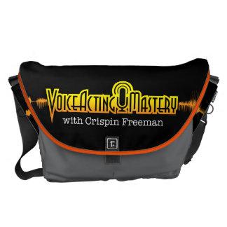 Voice Acting Mastery LRG Messenger Bag - Black OG