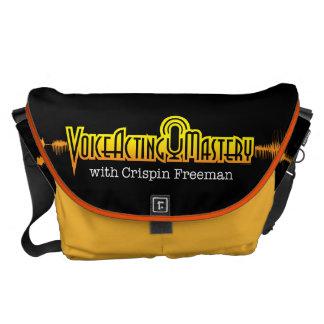 Voice Acting Mastery LRG Messenger Bag - Black Y
