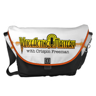 Voice Acting Mastery LRG Messenger Bag - White OB