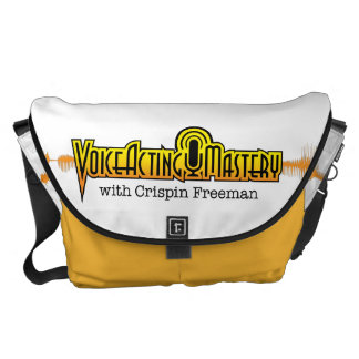 Voice Acting Mastery LRG Messenger Bag - White Y