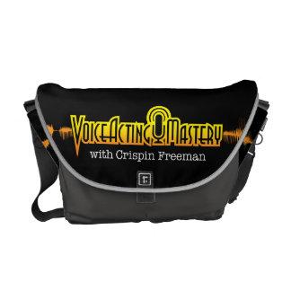 Voice Acting Mastery MED Messenger Bag - Black GG