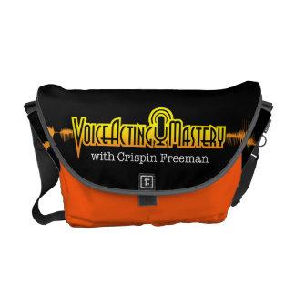Voice Acting Mastery MED Messenger Bag - Black O