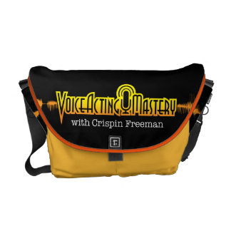 Voice Acting Mastery MED Messenger Bag - Black Y