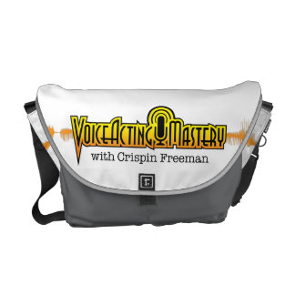 Voice Acting Mastery MED Messenger Bag - White GG