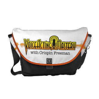Voice Acting Mastery MED Messenger Bag - White OB