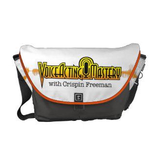 Voice Acting Mastery MED Messenger Bag - White OG