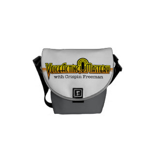 Voice Acting Mastery Mini Messenger Bag - White GG