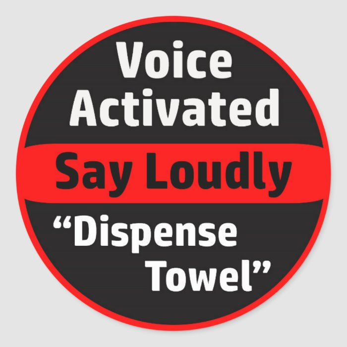 Voice Activated Paper Towel Dispenser Classic Round ...