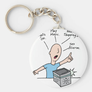 Voice command device technology keychain