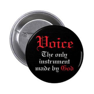 Voice Music Gift Pin