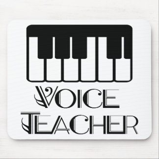 Voice Music Teacher Gift Mouse Pad
