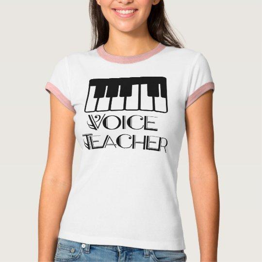 Voice Music Teacher Gift T-Shirt