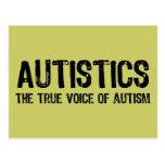 Voice of Autism Postcard